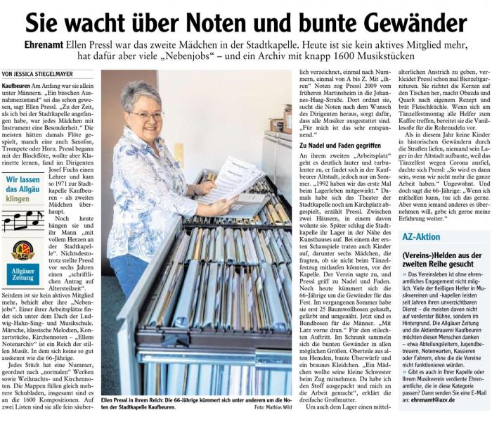 Allgäuer Zeitung - 12. November 2020